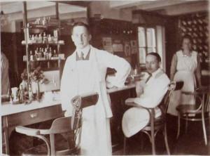 Joseph und August 1920