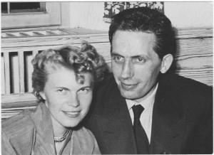 Walburga und Ferdinand Wommelsdorf 1953